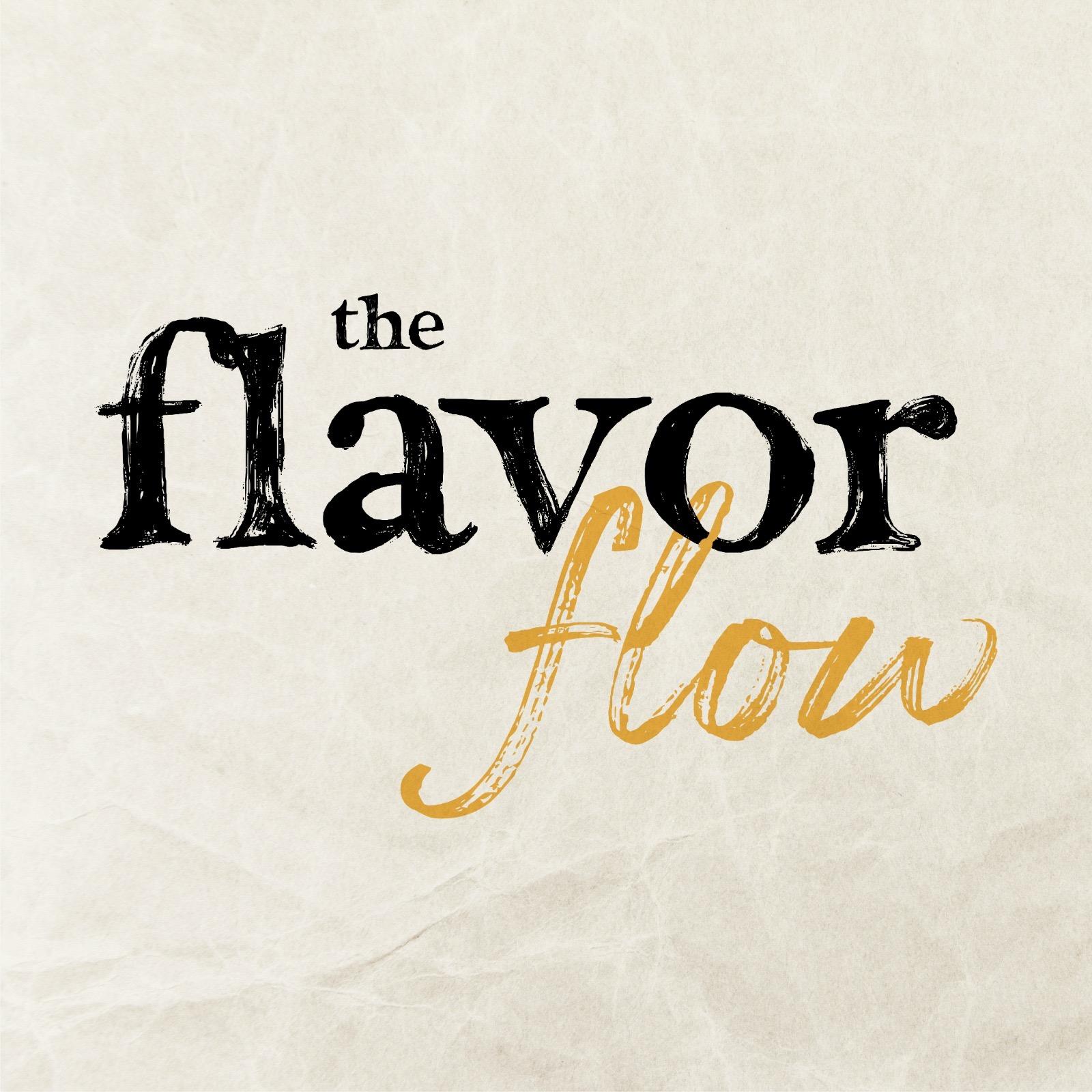 The Flavor Flow parchment logo